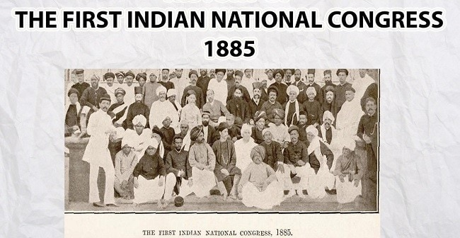 Indian National Congress 1885