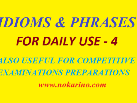 IDIOMS AND PHRASES-4