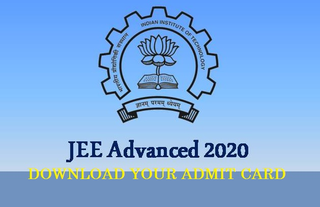 JEE (Advanced) 2020 Admit Card