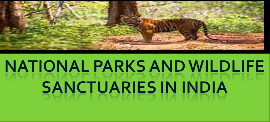 National Parks and Wildlife sanctuaries in INDIA